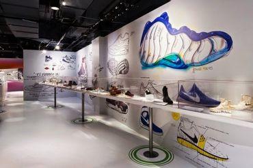 L'expo consacrée aux sneakers au Brooklyn Museum.