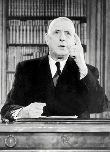 Charles De Gaulle en 1962