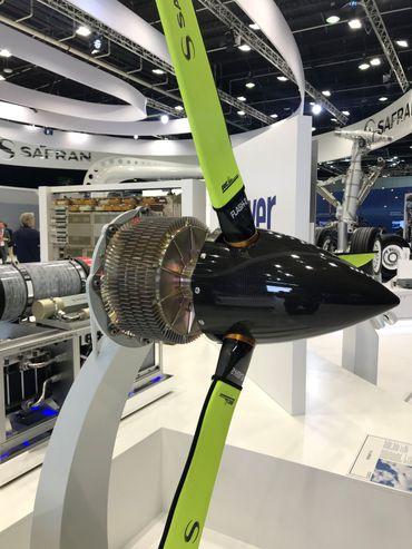 Un moteur électrique présenté par le constructeur français Safran