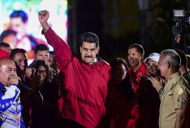 Le ^président vénézuélien Nicolas Maduro.