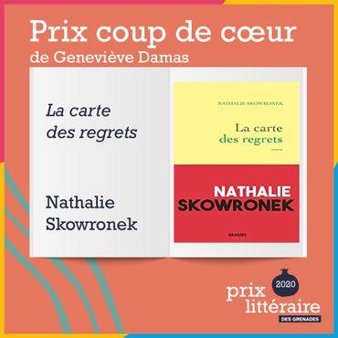 Lisette Lombé et Nathalie Skowronek, lauréates du Prix Grenades