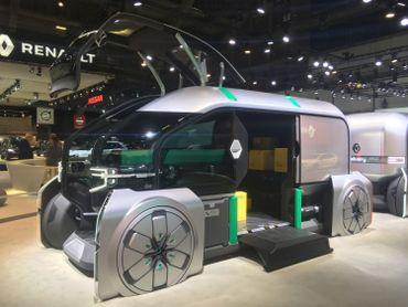 L'EZ-Pro est un véhicule modulable imaginé par Renault.
