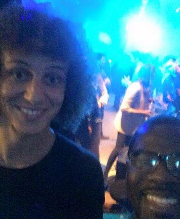 David Luiz avec Bombele