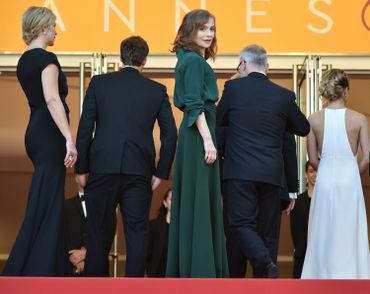 Isabelle Huppert à Cannes (2016)