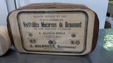 """Les désormais célèbres """" macarons de Beaumont """","""