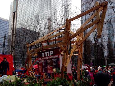 Certains mouvements citoyens s'opposent au TTIP (traité de libre échange Europe - Etats Unis)