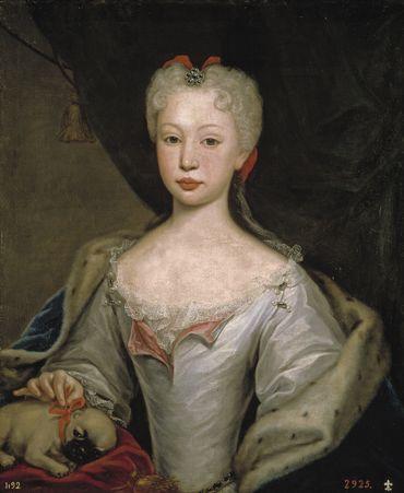 Marie-Barbara de Bragance, par Domenico Dupra