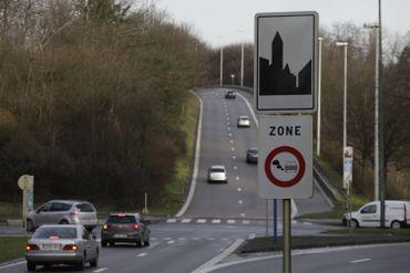 En région bruxelloise, une zone basse émission interdit les véhicules les plus polluants