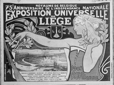 Expo universelle Liège - 1905