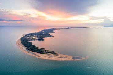 Vue idyllique de plages des îles Andaman