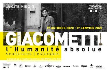 Exposition « Alberto Giacometti, l'humanité absolue » à la Cité Miroir à Liège