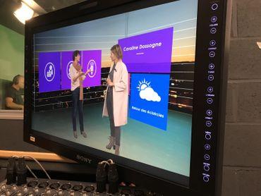 Les studios virtuels Keywallfont de Marcinelle l'un des fleurons des nouvelles technologies numériques ! On y enregistre dans le grand studio de 400 M2 des émissions faisant appel aux décors virtuels, le petit studio étant lui réservé à l'enregistrement des bulletins météo.