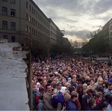 Les 30 ans de la chute du mur de Berlin sur la RTBF
