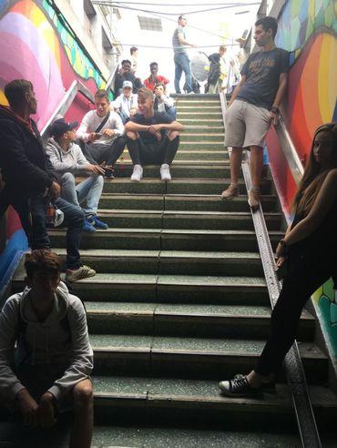 Une vingtaine d'ados de différentes maisons de jeunes du Namurois ont participé à ce projet.