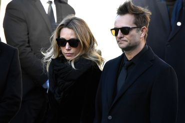 Les enfants de Johnny, Laura Smet et David Hallyday.
