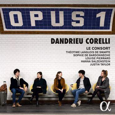 Le consort -Dandrieu. Sonates op. 1. Alpha. 682