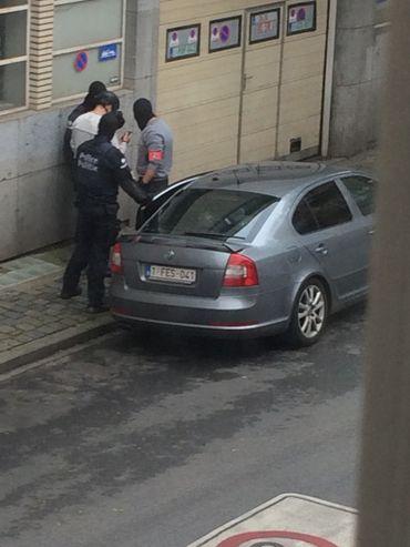 La police a arrêté un homme à Schaerbeek
