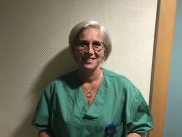 Françoise Hanard est infirmière hygiéniste au CHR Saint-Joseph, à Mons