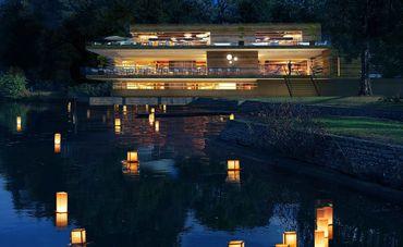 Des chambres d'hôtel flottantes sur la Meuse