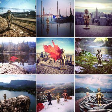 Quand Manneken-Pis fait le tour du monde sur Instagram