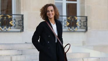 Leïla Slimani à l'Elysée