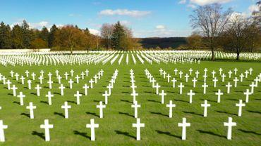 8000 soldats américains reposent ici. le cimetière d'Henri Chapelle conserve la mémoire de ces jeunes soldats américains tombés au combat.La plupart appartiennent à la première armée, celle qui a libéré la région le 11 septembre 1944.