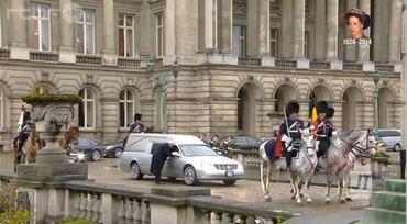 Le départ du Palais Royal