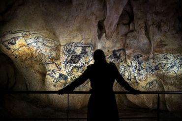 En tout, 1.000 dessins dont 425 figures animales de 14 espèces différentes, ont été reproduits au charbon de bois
