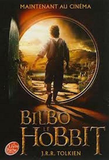 """J.R.R. Tolkien, """"Bilbo le Hobbit"""", Le Livre de Poche"""