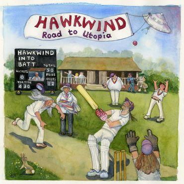 Hawkwind: album avec Eric Clapton
