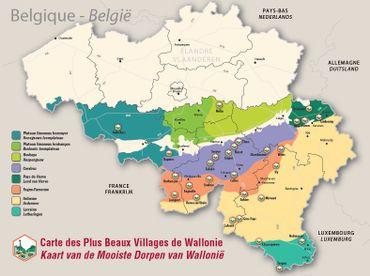 La Région wallonne compte à présent 28 villages labellisés