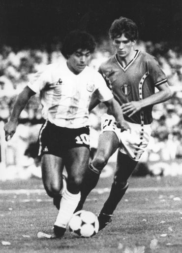 "Alex Czerniatynski sur Diego Maradona : "" En 82, j'étais avec lui au contrôle anti-dopage… """