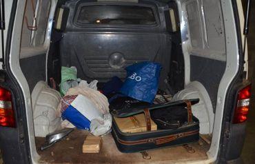 Le véhicule utilisé par les malfrats a été saisi.