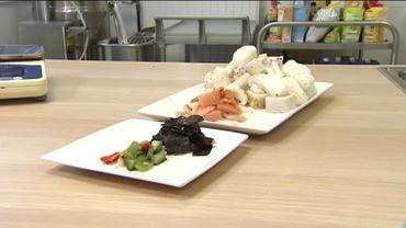 Un repas de sushis est composé à 78% de riz