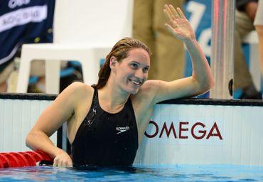 La nageuse Camille Muffat