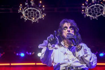 Alice Cooper à Forest National: Ol' Black Eye Is Back