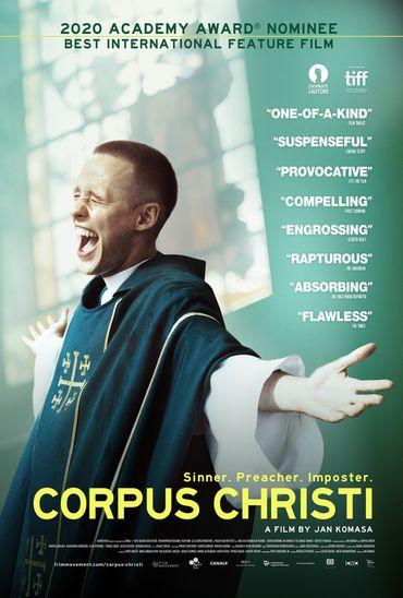"""L'affiche de """"Cprpus Christi"""""""