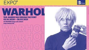 Exposition « Warhol, the American Dream Factory » à la Boverie à Liège