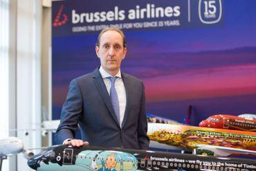 Dieter Vranckx, CEO de Brussels Airlines