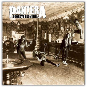 """Cowboys From Hell"" de Pantera en 1990"
