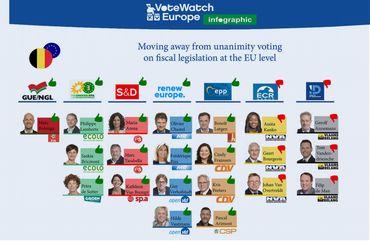 Capture d'écran du rapport de Votewatch Europe