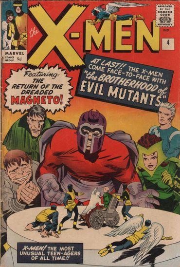 X-Men, une légende des comics