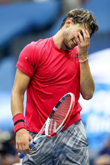 Dominic Thiem a perdu les deux premiers sets de la finale