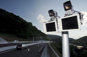Un radar vitesse moyenne
