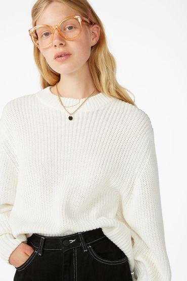 Puffed sleeve sweater - €25