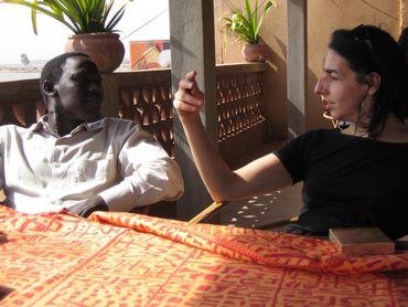 Ibrahima Aya et Veronika Mabardi