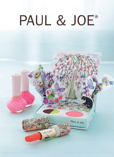 La collection de maquillage de Paul & Joe pour le printemps.