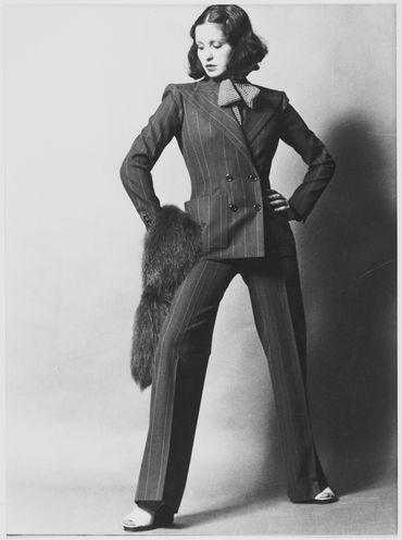 Tailleur-pantalon (veste)