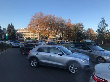 À Tournai, une opération escargot a paralysé une partie de la ville entre 8h et 9h