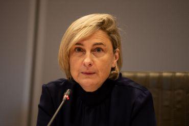 Hilde Crevits, ministre de l'Economie et de l'Emploi.